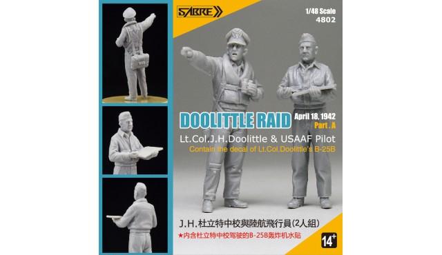 4802 DOOLITTLE RAID Part.A - RESIN KIT